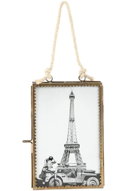 Double-Sided Hanging Fretwork Photo Frame - 10Cm