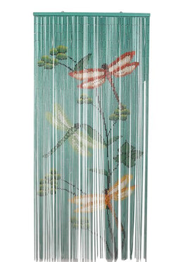 Delicieux Dragonfly Bamboo Door Curtain ...