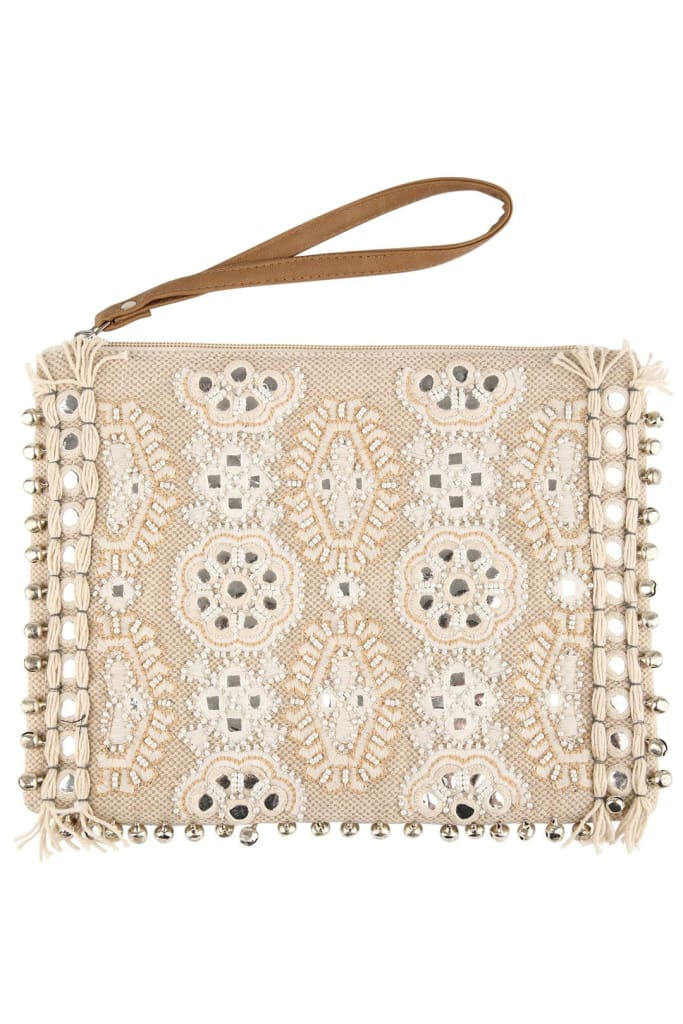 Dreamy Beading Bells Clutch