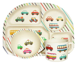 Bim Bam Boo Kids Dining Set ' Transport'