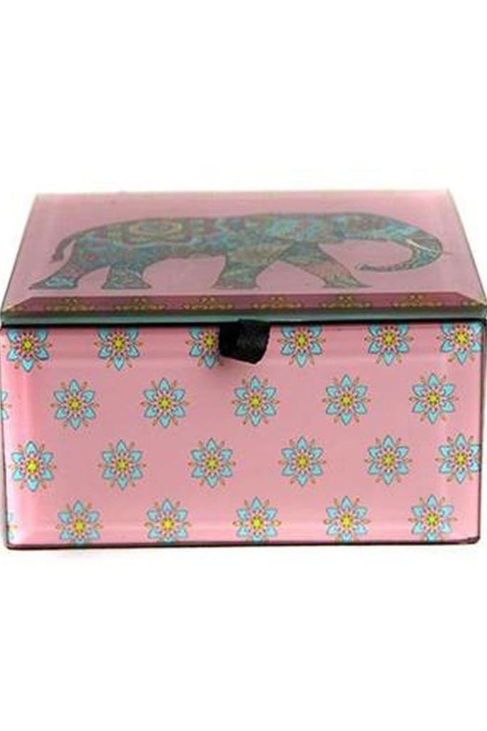 Elephant Glass Box