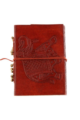 Elephant Icon Leather Journal