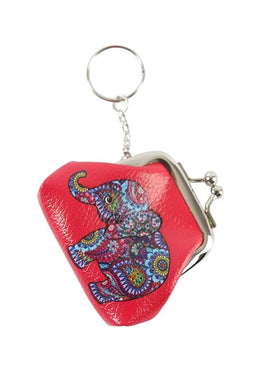 Elephant Purse Keyring