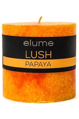 Elume Lush Papaya Candle