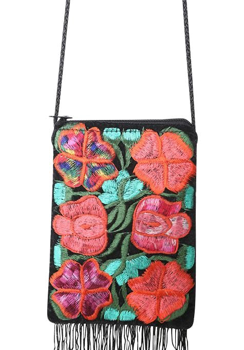 Embroidered Mayan Bag