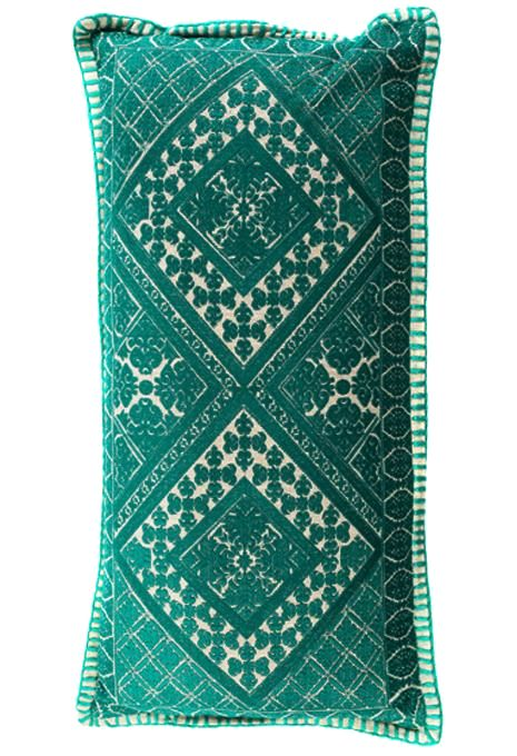 Emerald Swati Cushion