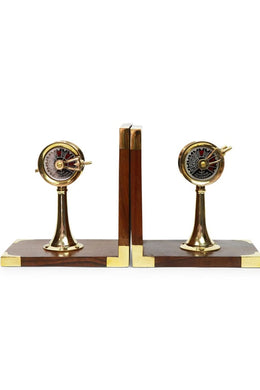 Engine Room Telegraph Bookends
