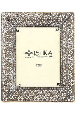 Engraved Metal Photo Frame