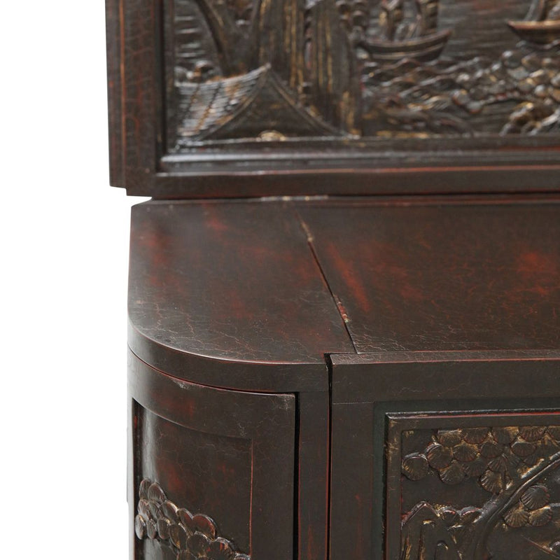 Extraordinary Carving & Cabinetry Desk