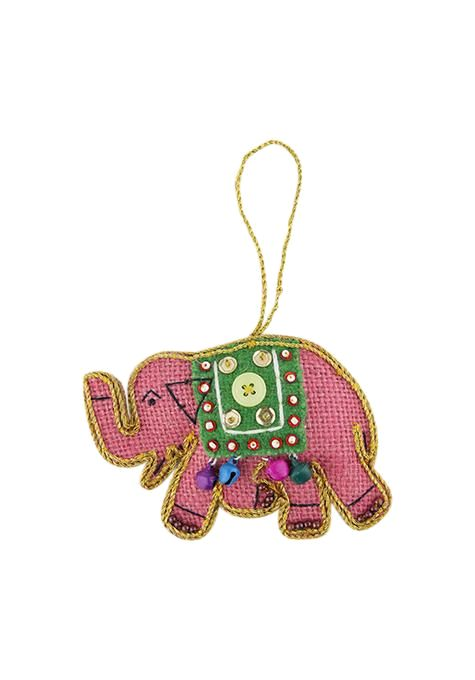 Festive Elephant Decoration