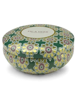 Fig And Herb Travel Tin Candle