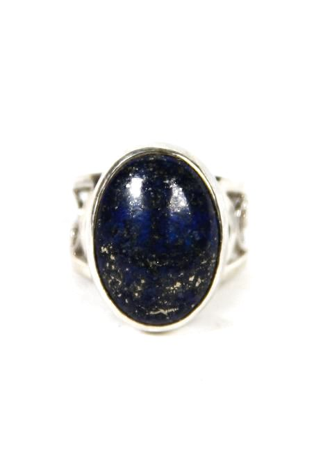 Filigree Lapis Ring