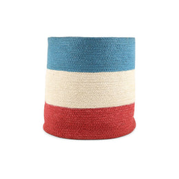 Flag Colours Jute Basket
