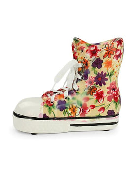 Floral Sneaker Money Box