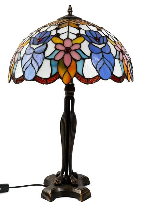 Floral Tiffany Lamp
