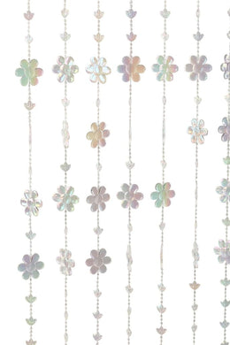 Flower Beaded Curtain