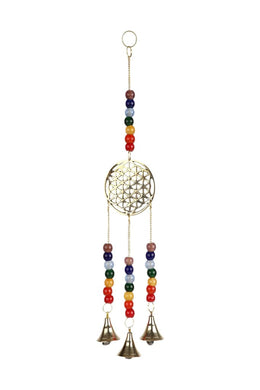 Flower Of Life Hanging Bells
