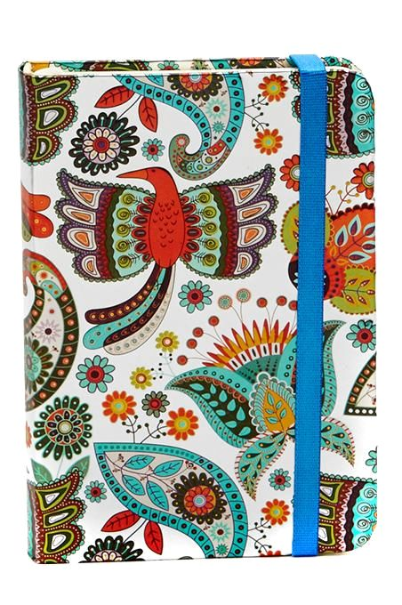 Folk Art Foil Notebook