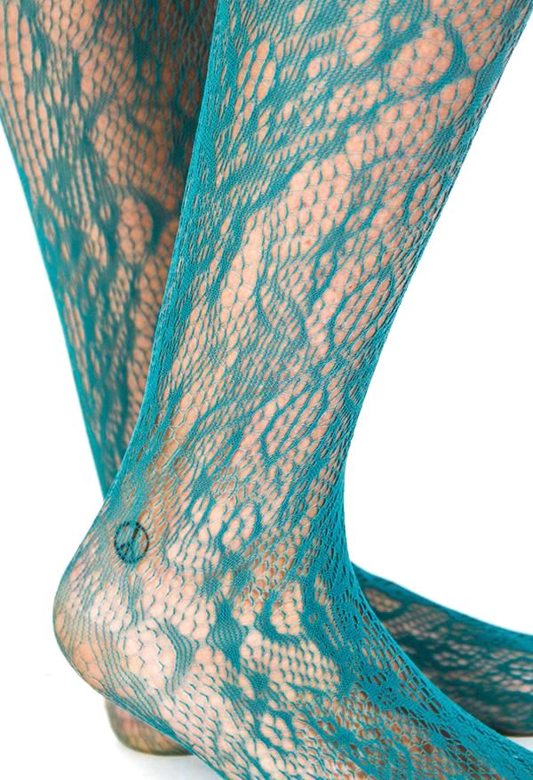 Forest Floral Stockings
