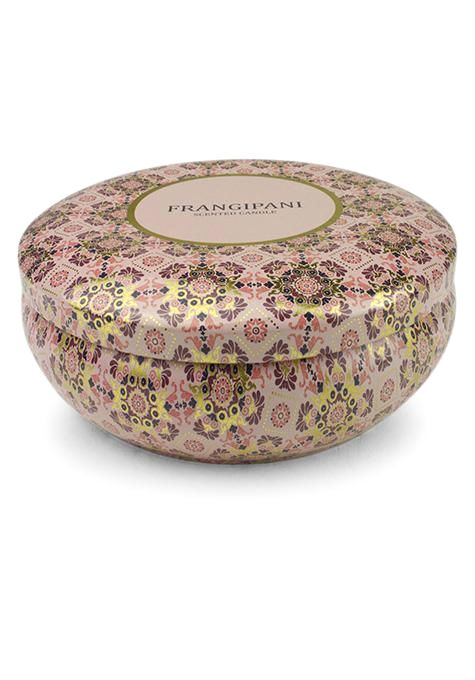 Frangipani Travel Tin Candle | Tuggl