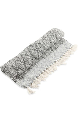 Fringed Cotton Throw
