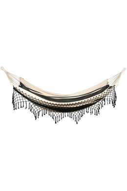 Fringed Stripy Hammock