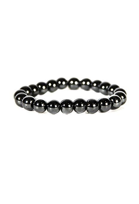 Gemstone Bracelet - 10mm Hematite