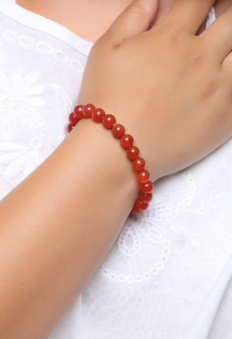 Gemstone Bracelet - 10mm Red Aventurine