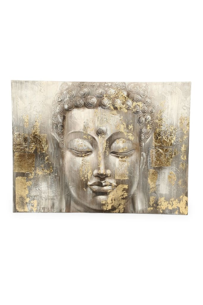 Gold Buddha Oil Painting Canvas