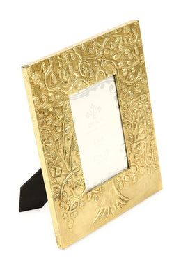 Gold Metal Tree of Life Photo Frame