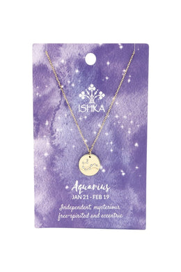 Gold Zodiac Constellation Necklaces