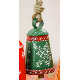 Green Handpainted Bell