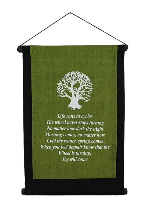 Green Tree Banner