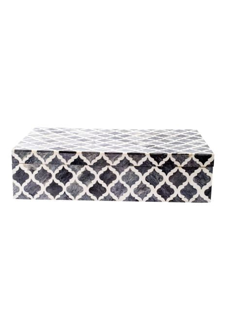 Grey Bone Inlay Box