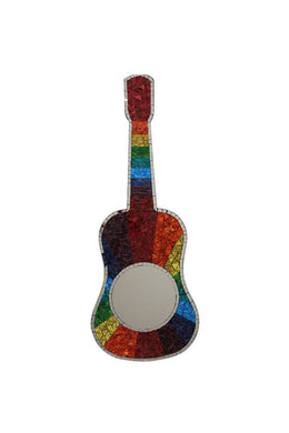 Guitar Mosaic Mirror