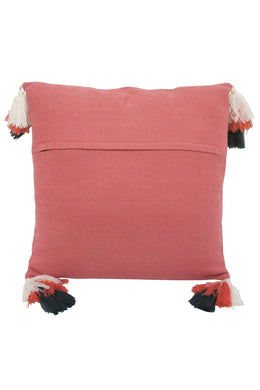 Coral Petrie Tassel Cushion