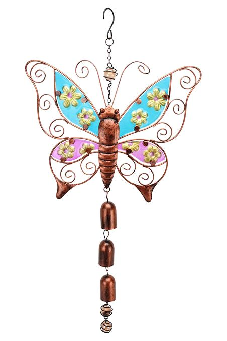 Hanging Butterfly With Bell