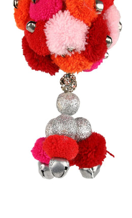 Hanging Multi Pom Pom Decoration