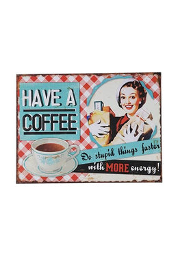 Have A Coffee Wall Hanging