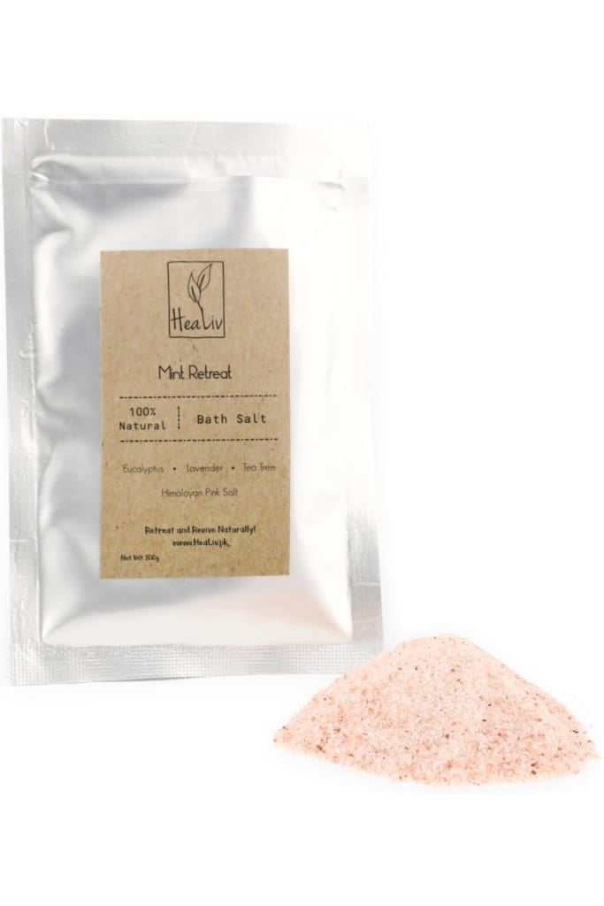 Healiv Himalayan Bath Salt - Mint Retreat