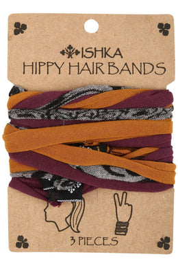 Hippie Hair Bands Set Of 3