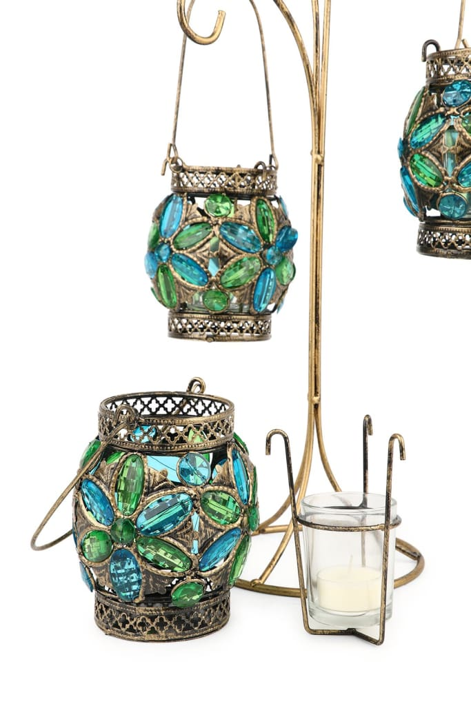 Holder Candle 3 Hanging Votive Holder