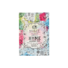 Home Sweet Colouring Book