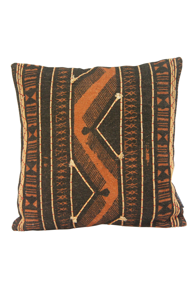 Adder Cushion - Rust Black - 45 x 45