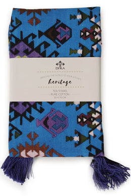 Ishka Printed Cotton Tea Towel