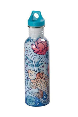 Japanese Fish Stainless Steel Water Bottle