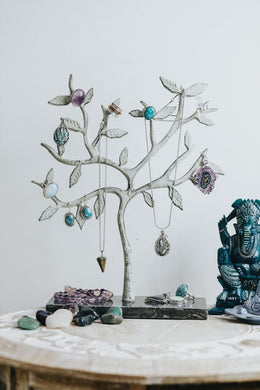 Jewellery Tree With Marble Stand