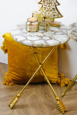 Jonquil Agate Side Table