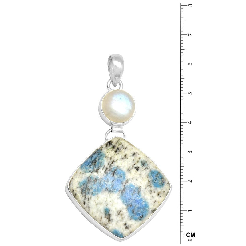 K2 With Moonstone Pendant
