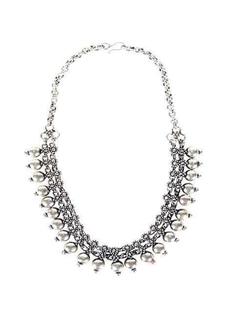 Kolhapuri Bearing Detail Necklace